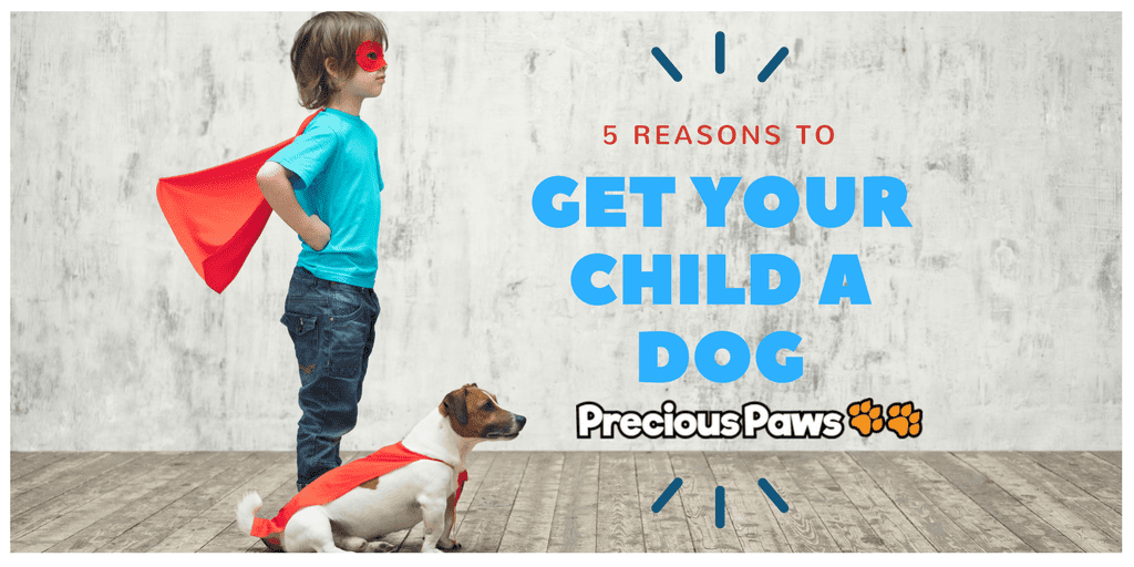 5 Reasons to Get Your Child a Dog
